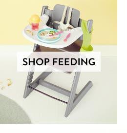 Baby feeding gear.