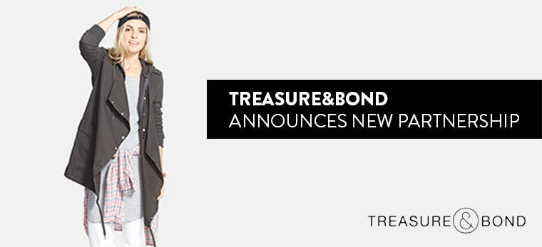 Treasure&Bond announces new partnership.