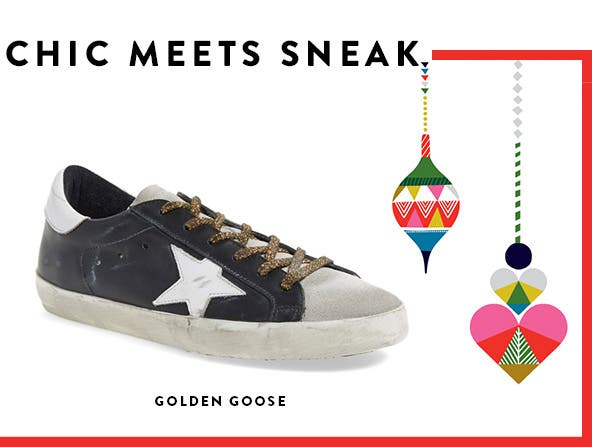 Chic meets sneak with Golden Goose.