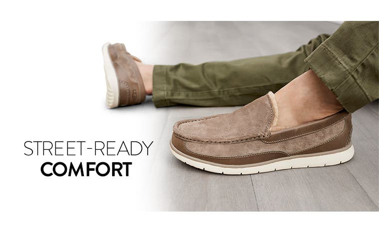 Street-ready comfort. UGG shoes for men.