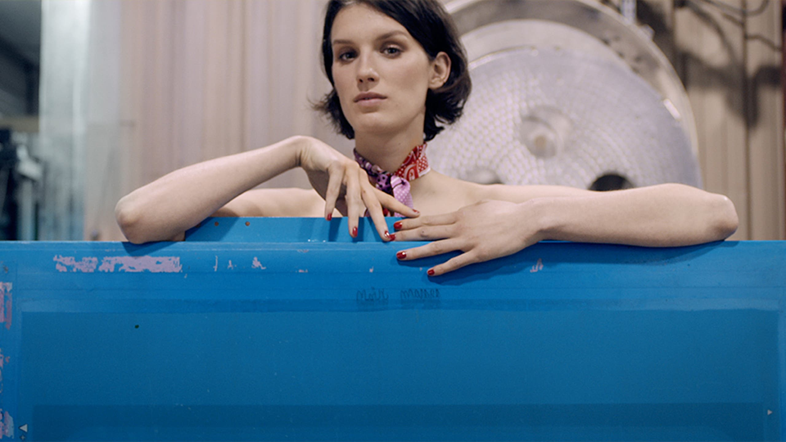 Play video: Hermès scarves.