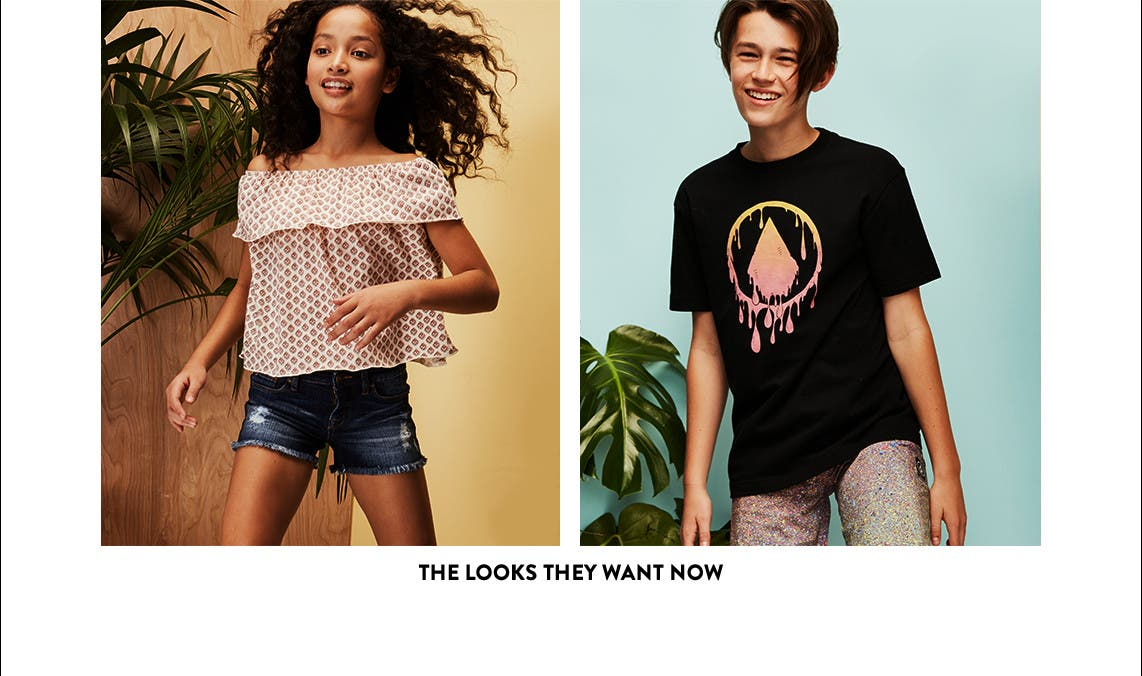The looks tweens want now.