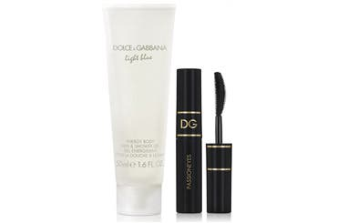 Dolce&Gabbana Beauty gift with purchase.