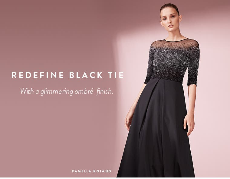 Designer Evening Gowns | Black Party Dresses