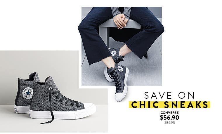 Save on chic sneaks at Anniversary Sale.