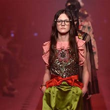 INSIDE THE GUCCI FASHION SHOW