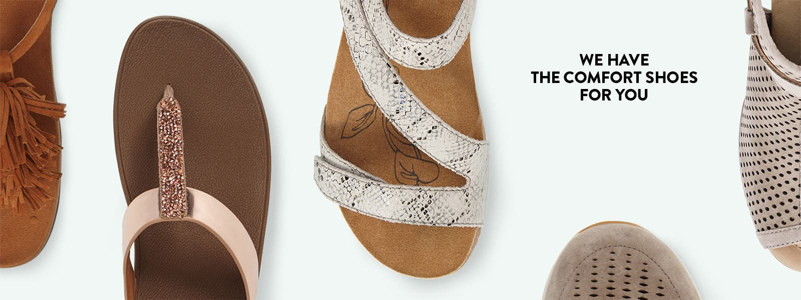 Women's sandals with removable insoles - We Have The Comfort Shoes For You