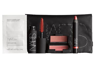 Receive a free 5-piece bonus gift with your $100 NARS purchase