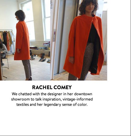 Fashion Week: in the showroom with Rachel Comey.