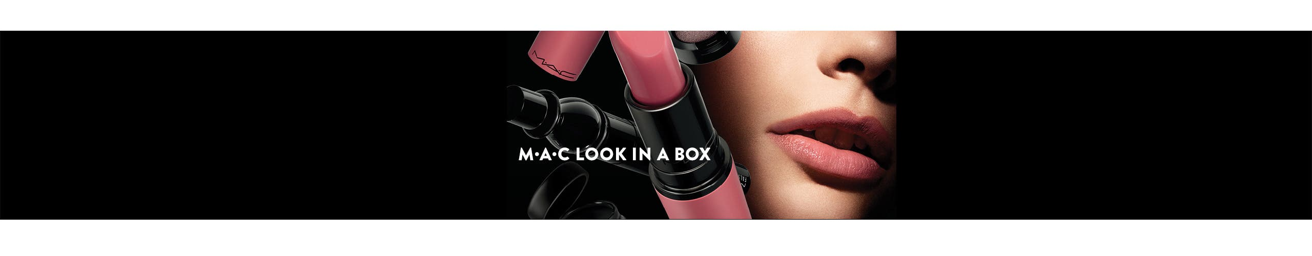 Beauty exclusives: M•A•C Look In A Box makeup and brush kits.