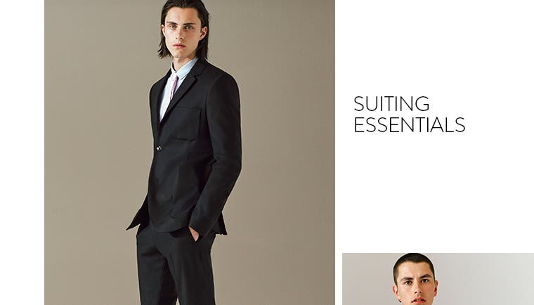 Topman suiting essentials.