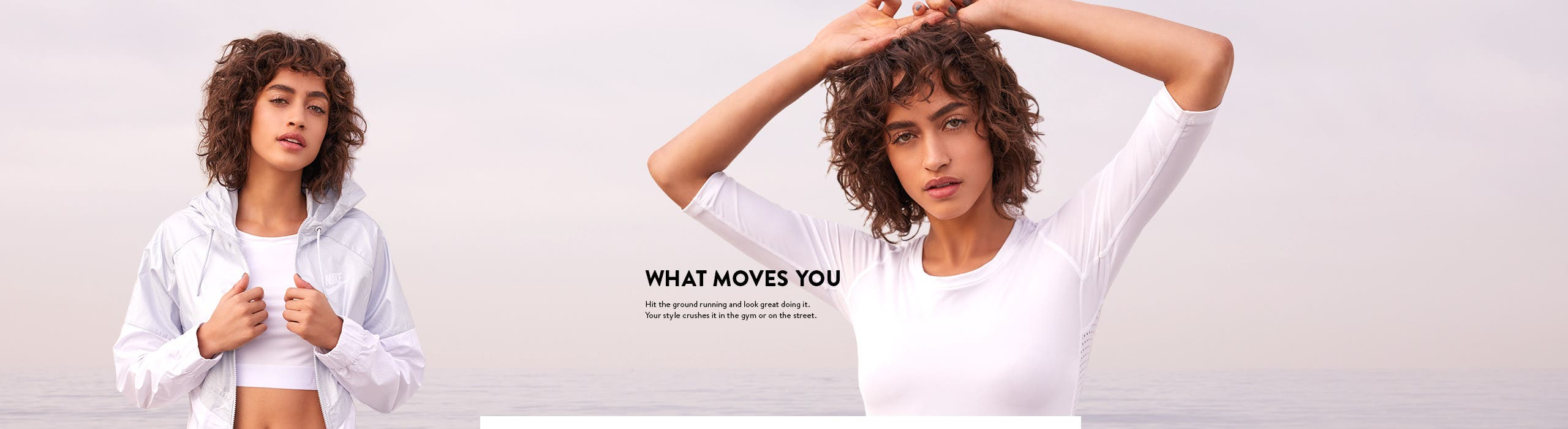 What moves you: activewear for women.