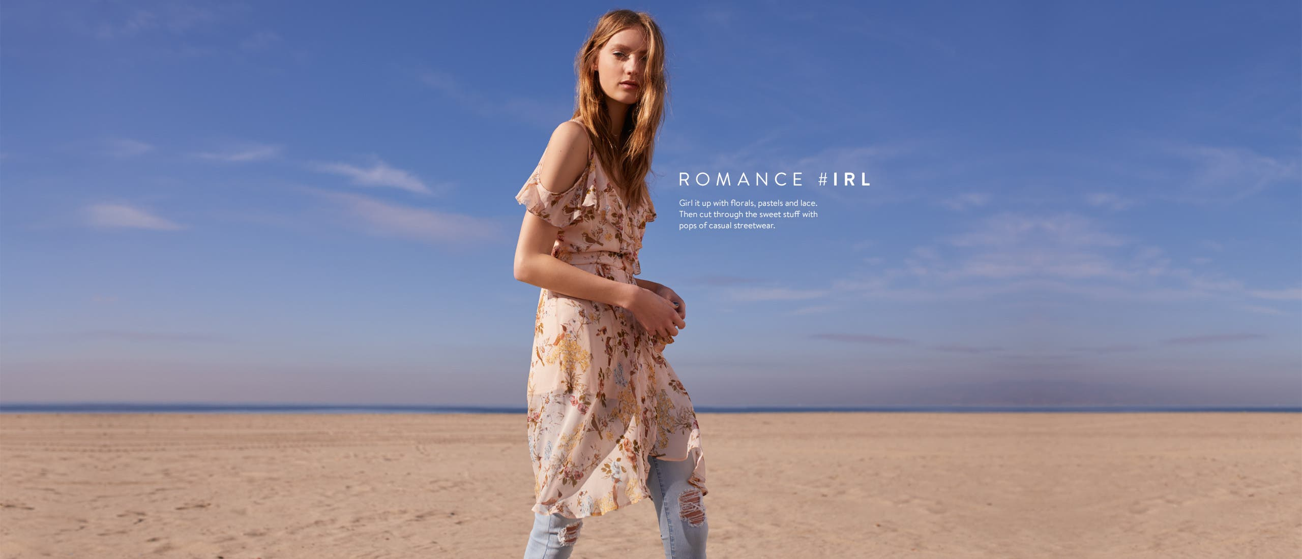 Romance in real life. Women's trend clothing, shoes and accessories.