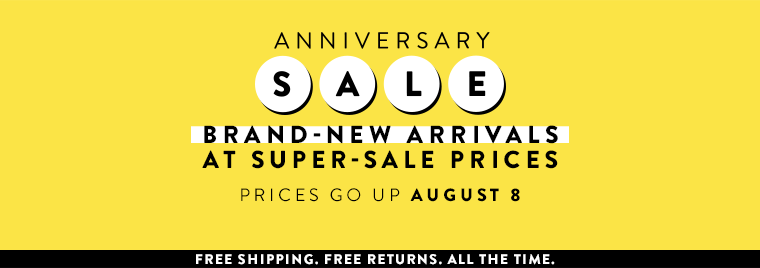 Women's accessories at Anniversary Sale: brand-new arrivals at super-sale prices. Prices go up August 8.