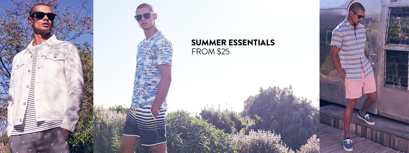 Summer essentials from $25.