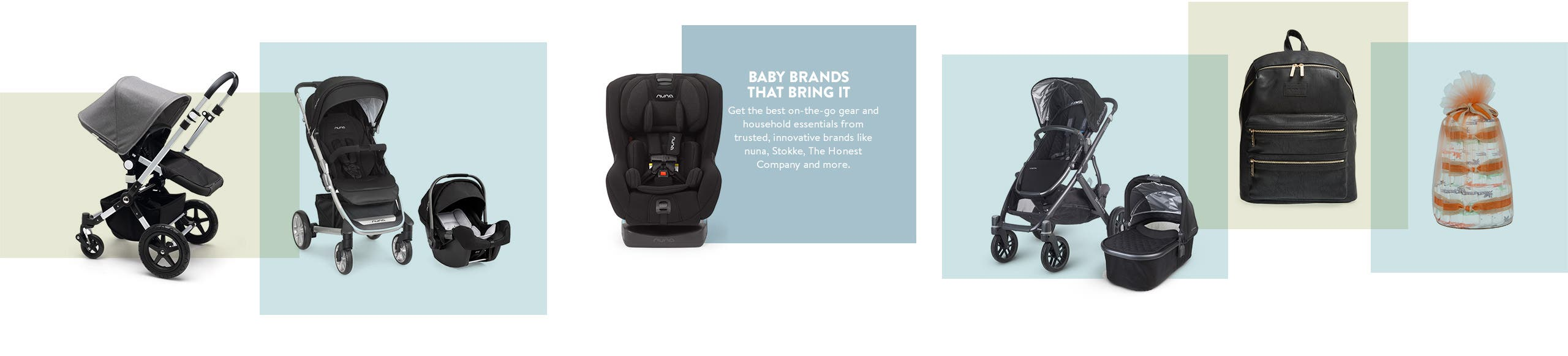 Baby brands that bring it. The best in baby gear and essentials at Nordstrom.