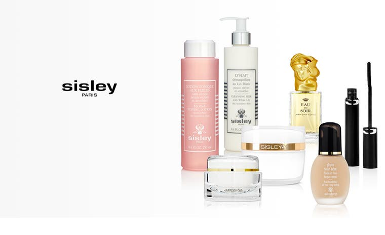 Sisley Paris skin care, makeup and fragrances.