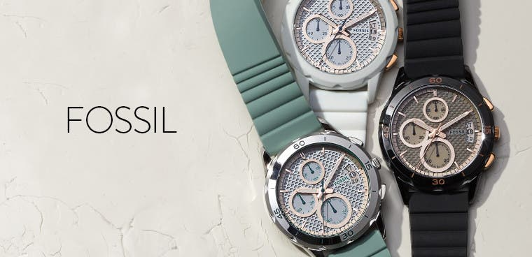 Fossil women's watches.