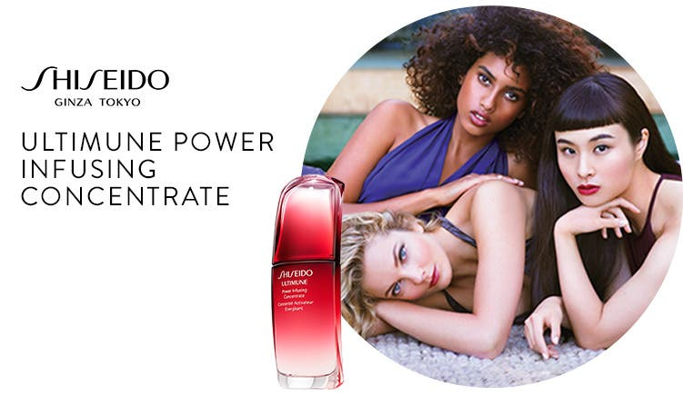Shiseido Ultimune Power Infusing Concentrate.