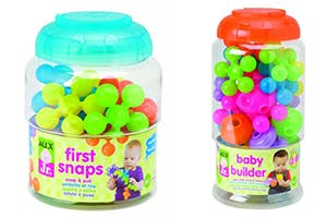 ALEX JR. FIRST SNAPS AND BABY BUILDER PLAY SETS