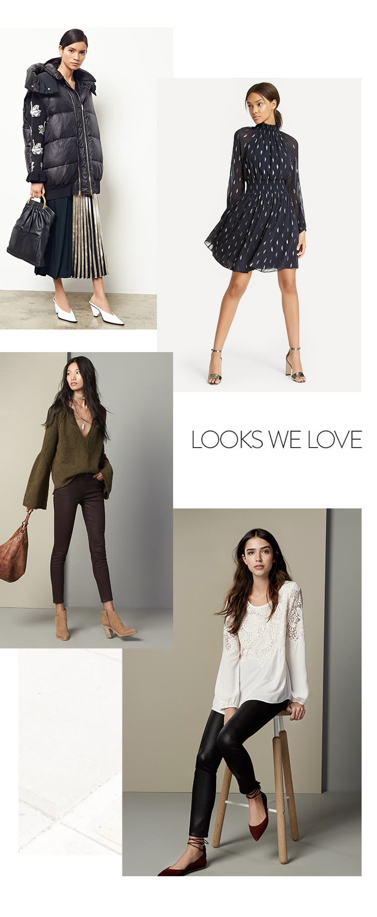 Women's looks we love.