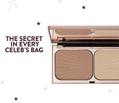 The secret in every celeb's bag: Charlotte Tilbury's Filmstar Bronze & Glow Face Sculpt & Highlight.