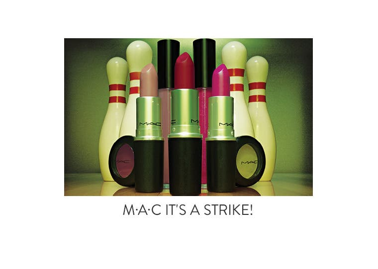 M•A•C It's A Strike! collection.