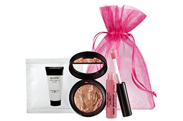 Receive a free 3-piece bonus gift with your $35 Laura Geller purchase