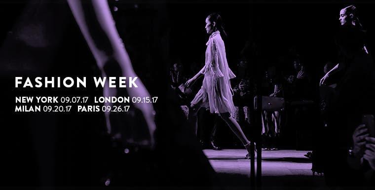 Fashion Week spring/summer 2018.
