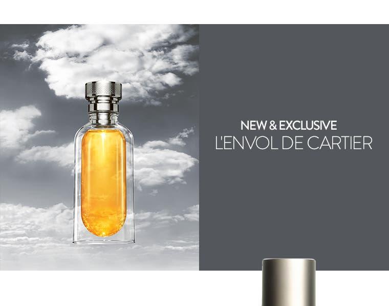 New and exclusive: Cartier L'Envol cologne.