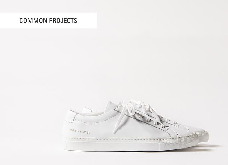 Common Projects shoes.