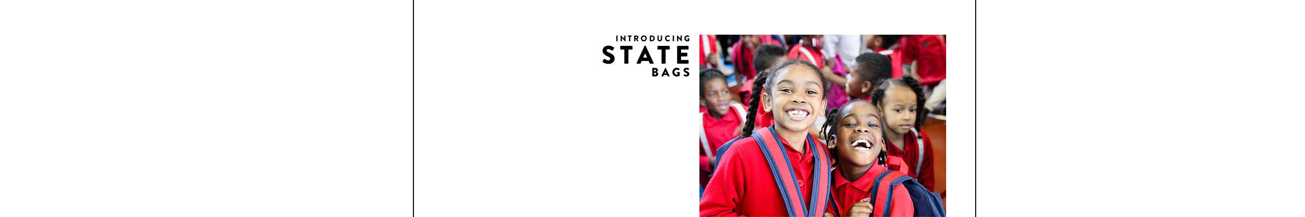 Introducing STATE bags.