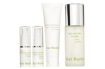 Receive a free 4piece bonus gift with your $125 Kat Burki purchase