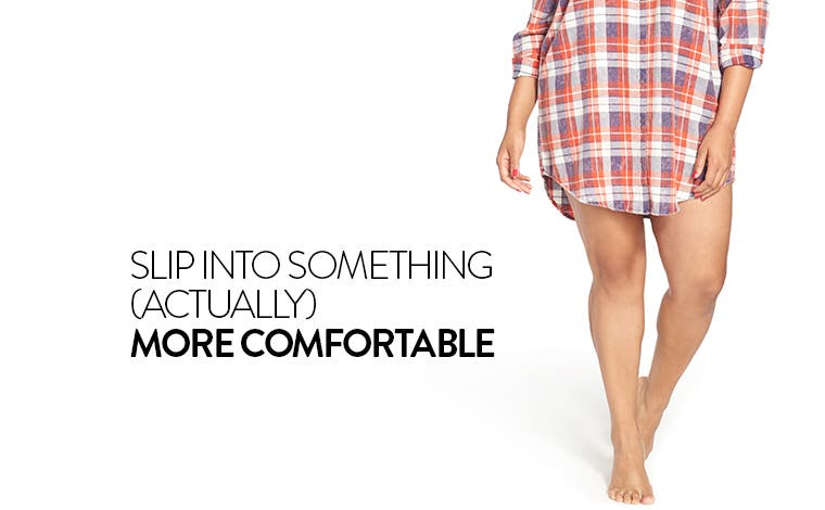 Slip into something (actually) more comfortable: plus-size sleepwear.