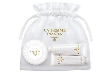 Prada women's fragrance gift with purchase.