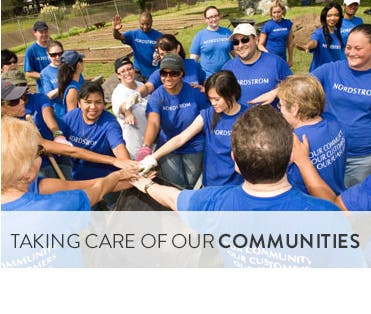 Taking care of our communities.