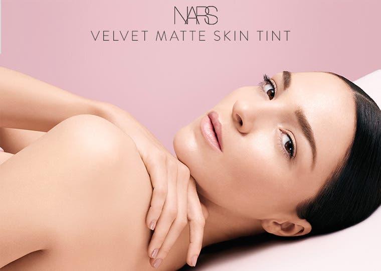 NARS Velvet Matte Skin Tint makeup.