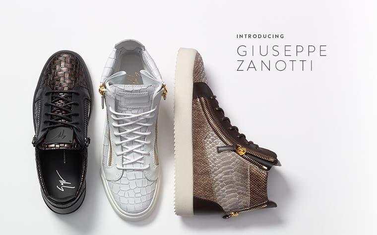 Men's designer shoes.