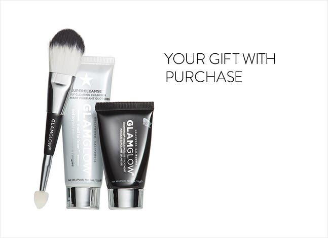Your GLAMGLOW gift with purchase.