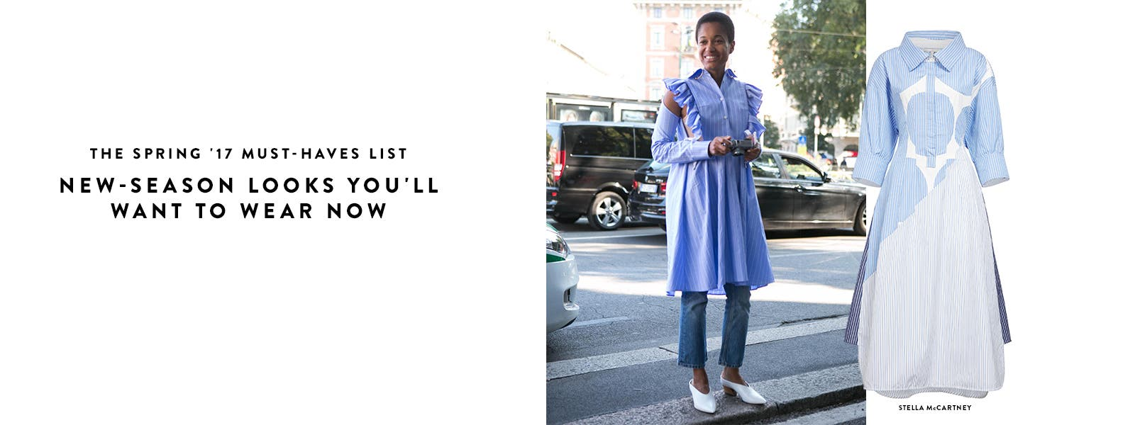 Spring 2017 designer must-haves list.