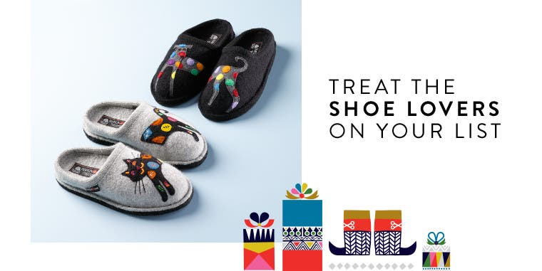 Shoe gifts for everyone on your list.