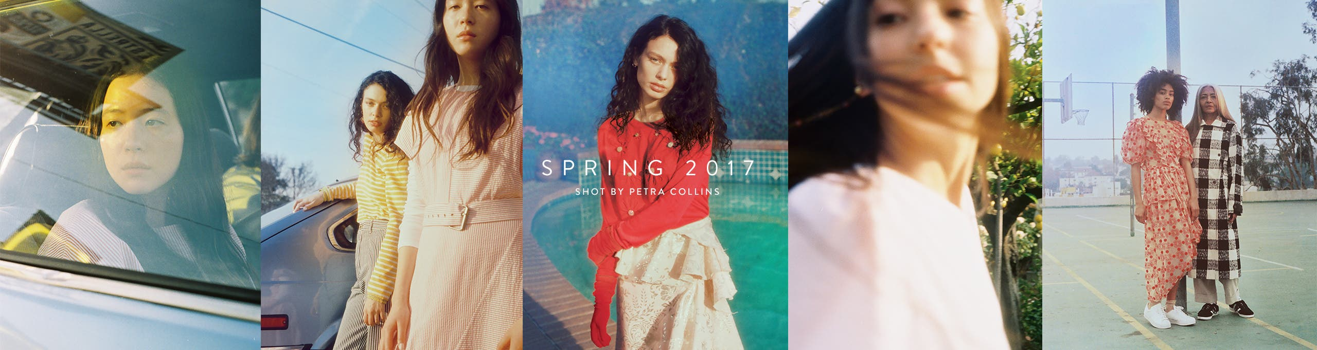 Our spring campaign, shot by Petra Collins.