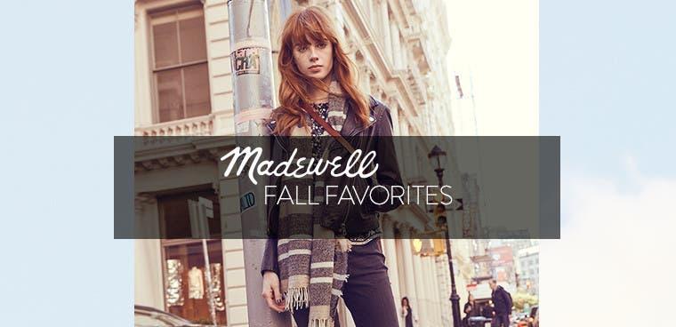 Madewell fall favorites.