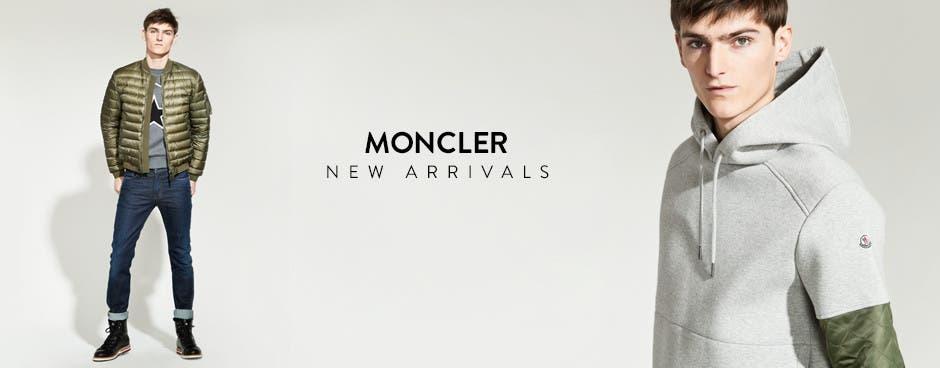 Moncler: new arrivals.