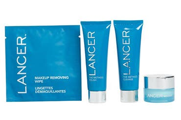 Receive a free 4-piece bonus gift with your $100 LANCER purchase