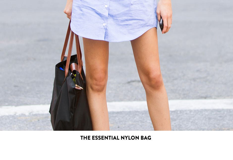 The essential nylon bag.