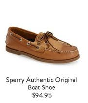 Sperry Authentic Original Boat Shoe.