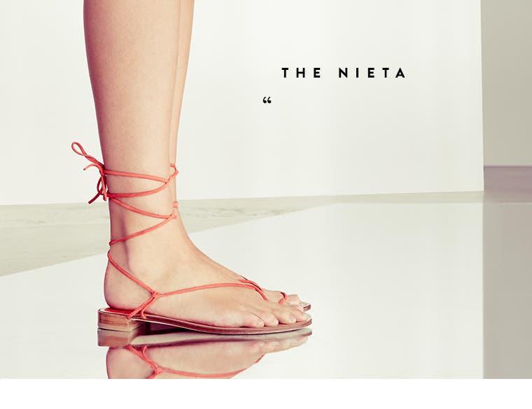 The Nieta sandal.