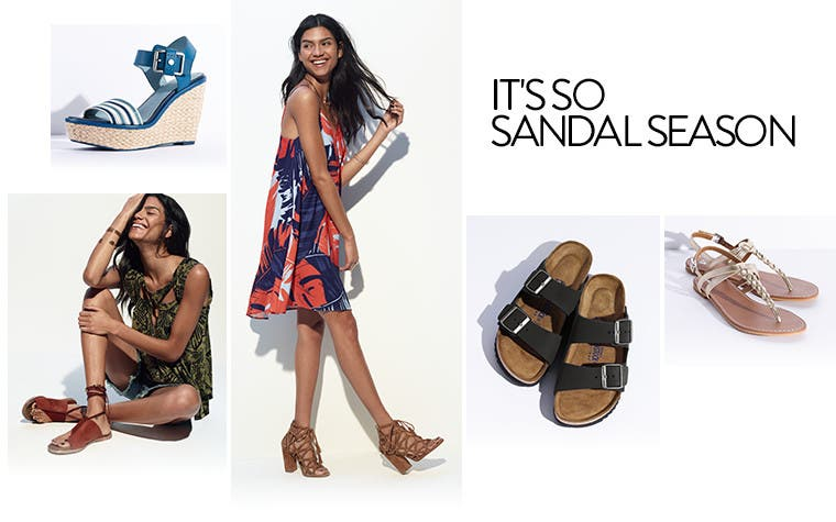 It's so sandal season.