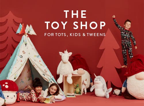 The toy shop for tots, kids and tweens.